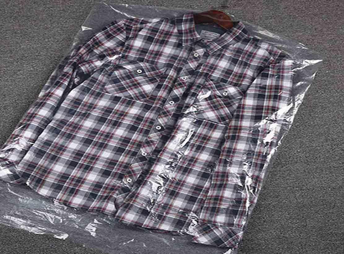 Disposable Clear Plastic Garment Bags