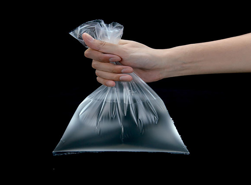 Flat Plastic Food Grade Bag On Roll