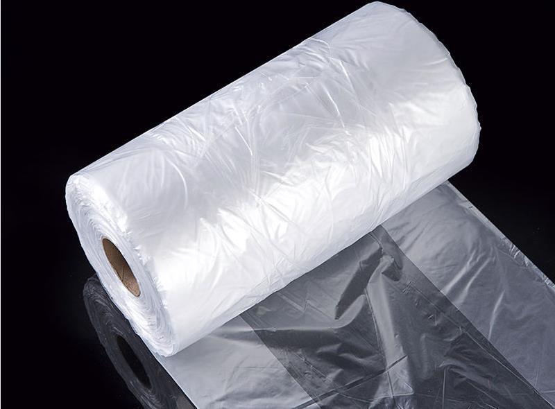 T-shirt Plastic Food Bag On Roll