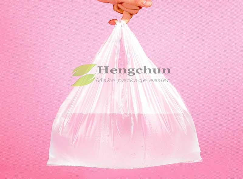 Hdpe Bags Plastic Bag Wholesale HDPE Vest Garbage Bags Hot Sealing Plastic Bag