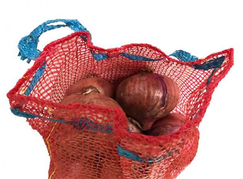 Reusable Onions Storage Mesh Bag