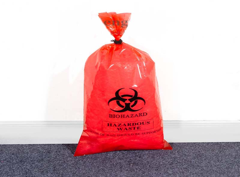 LDPE Medical Heavy Duty Thicker Waste Bag
