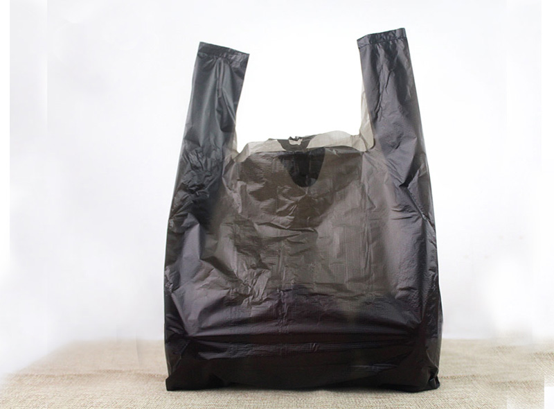 Black T-Shirt Garbage Bag