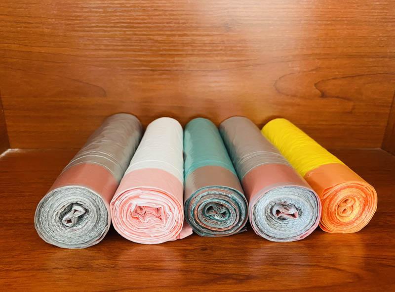 Colorful Drawstring Garbage Bag