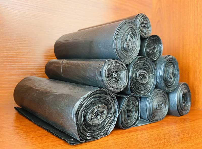 Recyclable Black Garbage Bag