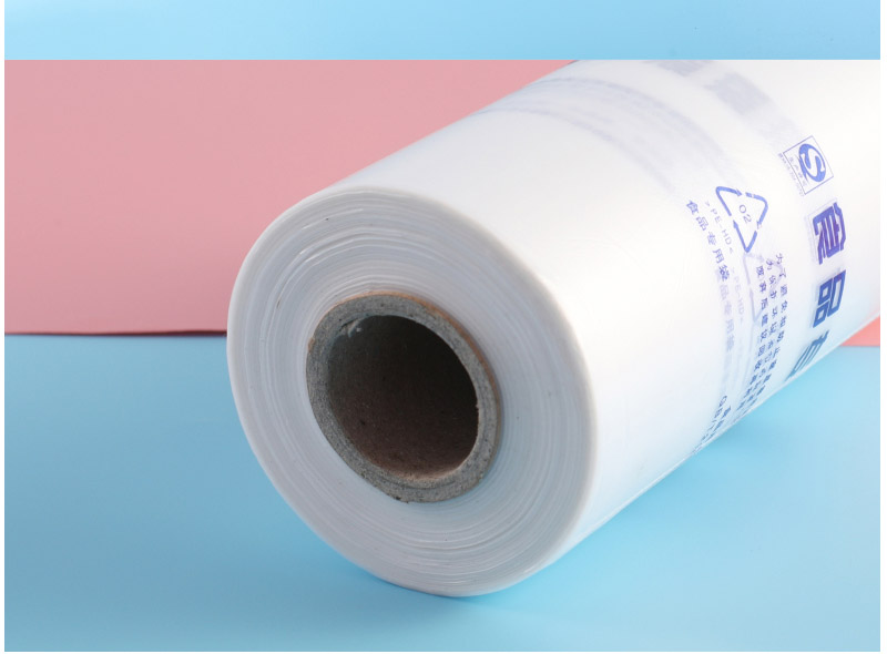 Clear Plastic Produce Supermarket Bag Roll