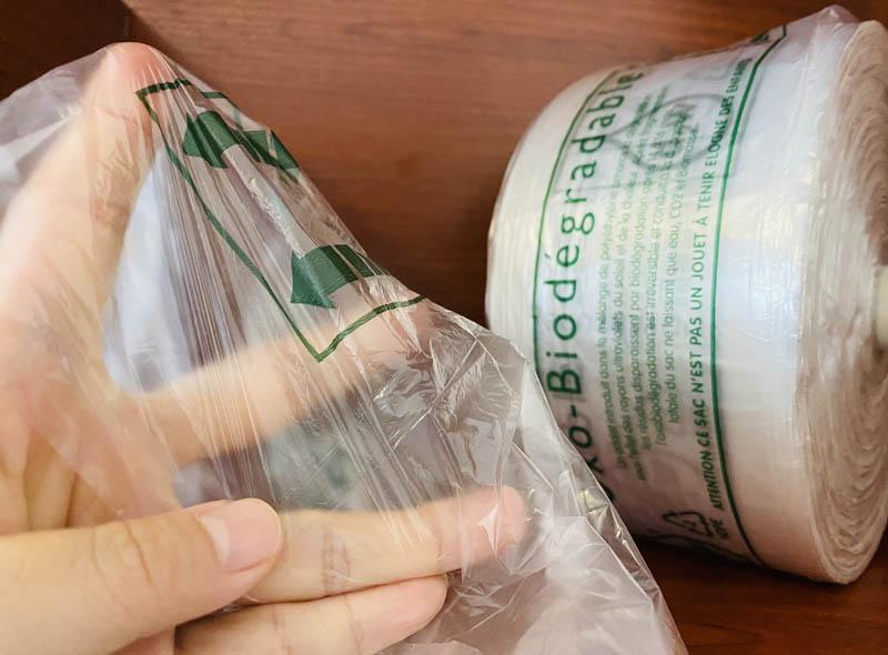 HDPE Biodegradable Star Seal Food Bag Roll