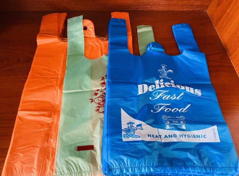 Plastic T-shirt Shopping Bag