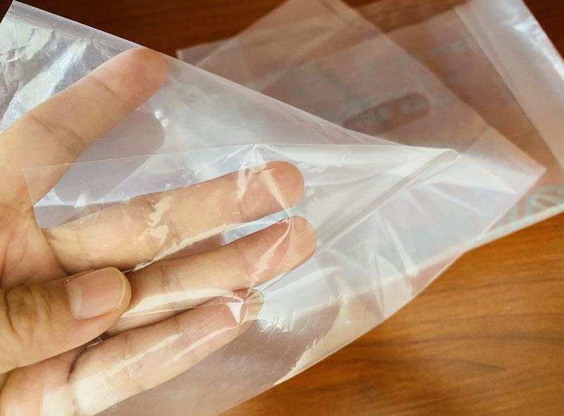 LDPE Transparent Plastic Die-cut Bag