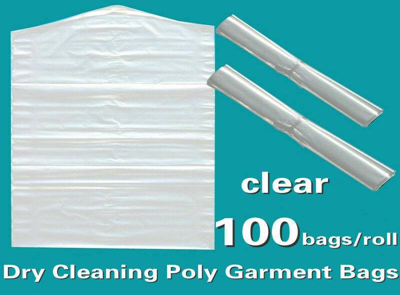 Clear Polyethylene Garment Bag On Roll