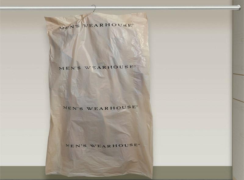 LDPE Thicken Plastic Garment Bag On Roll