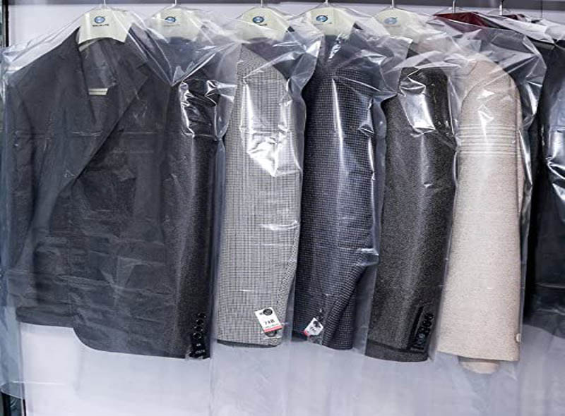 Clear Plastic Suit Cover Bags