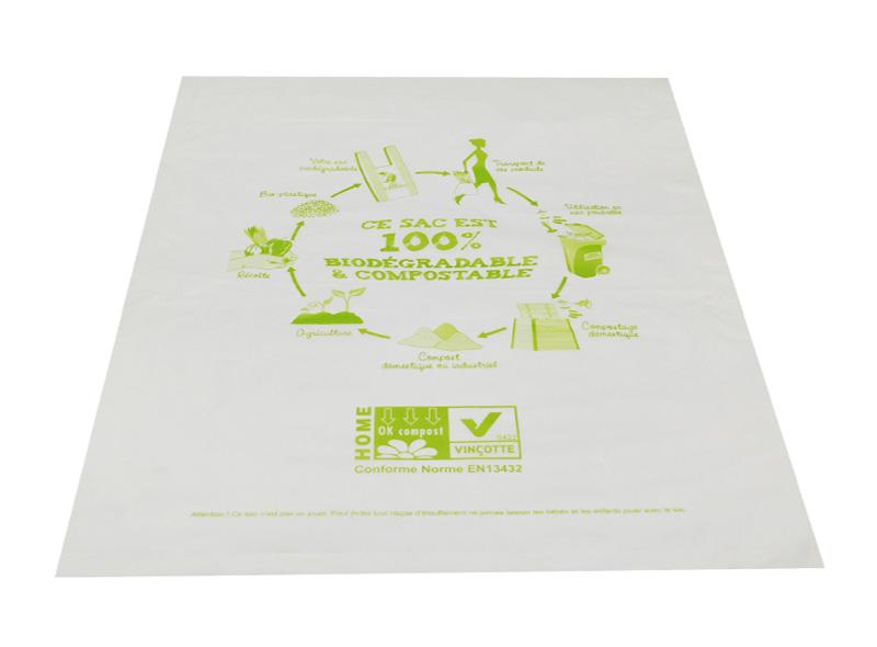 100% Corn Strach Biodegradable Bag