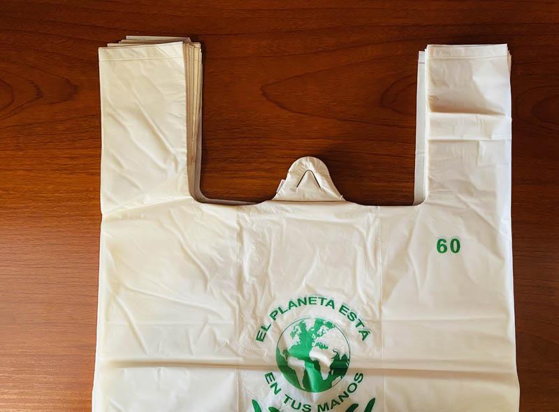 Biodegradable Plastic T-shirt Bag
