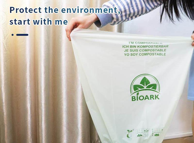 100% Compostable Trash Bag