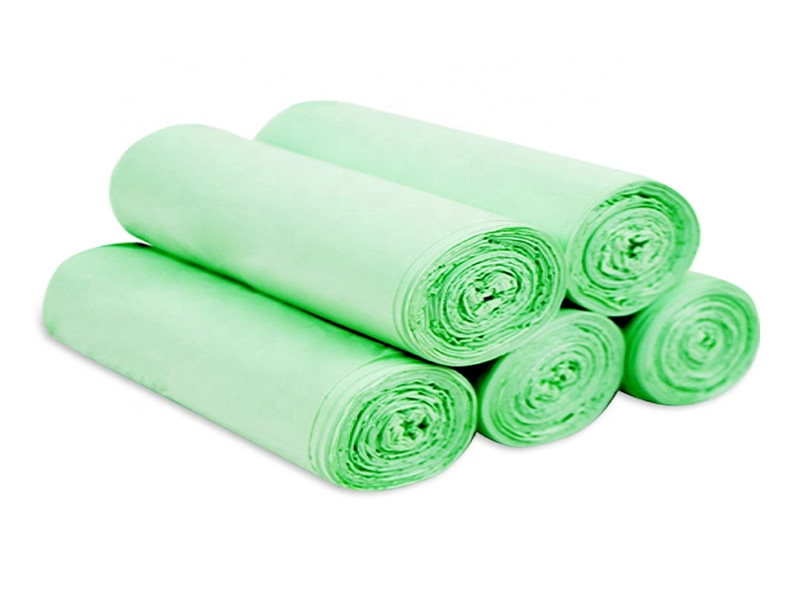 Light Green D2W 100% Oxo-Biodegradable Bag