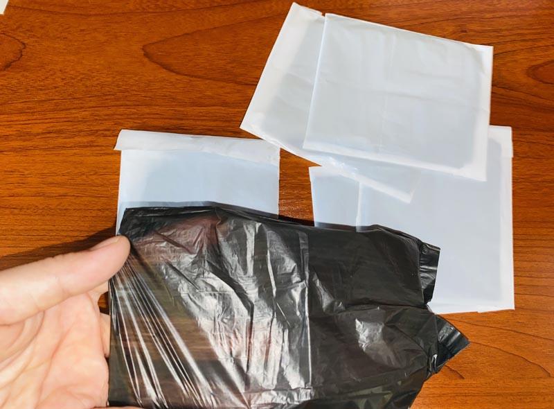 Personal Sanitary Disposal Bag