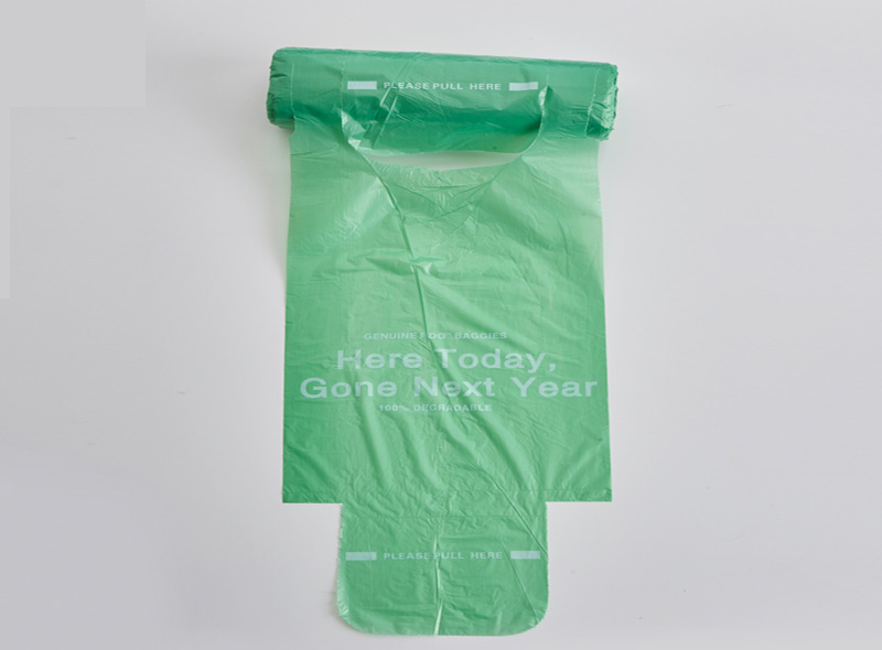 Green Dog Waste Bags On Roll
