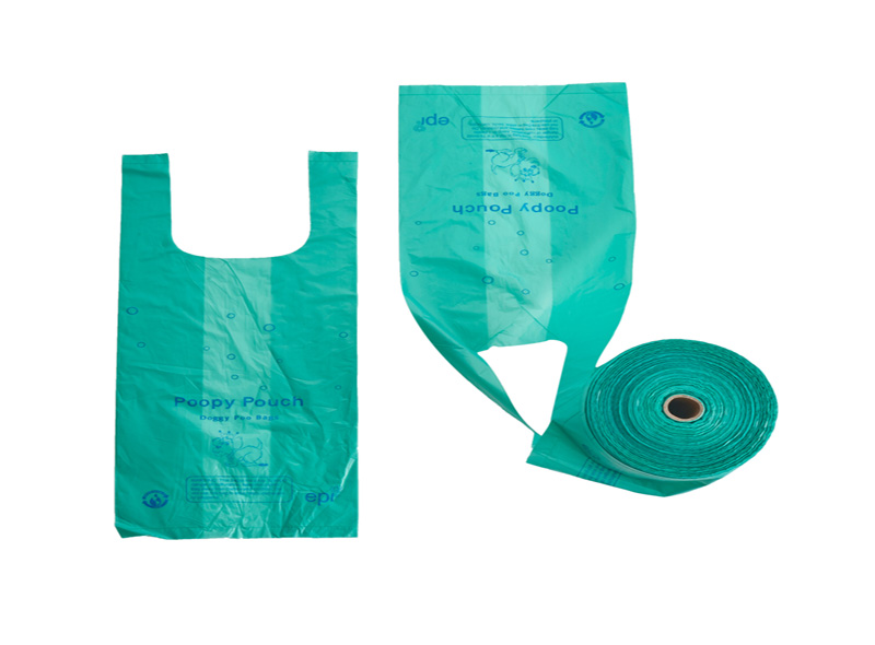 Customized Disposable Pet Waste Bag On Roll