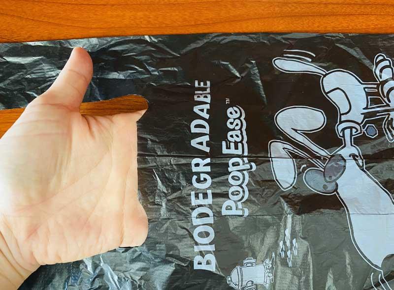 Black Biodegradable Dog Waste Bags