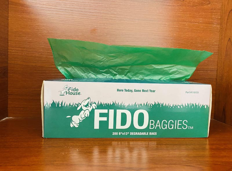 Green Eco-friendly Pet Waste Bags