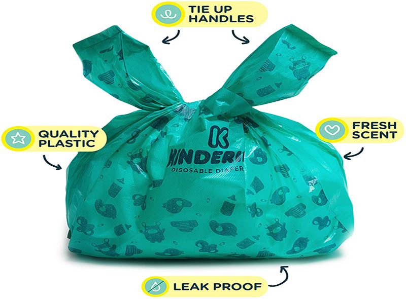 Disposable Scented Baby Nappy Bag