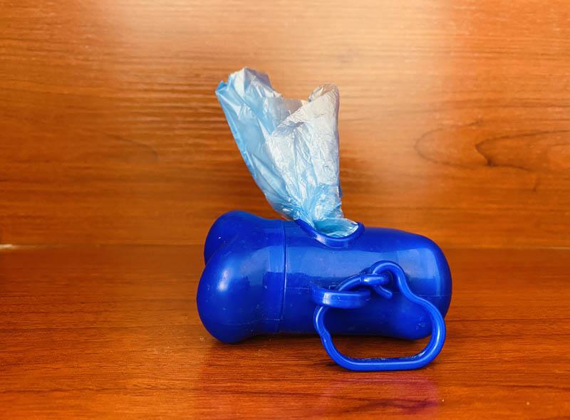 Pet Waste Bag With Dispenser