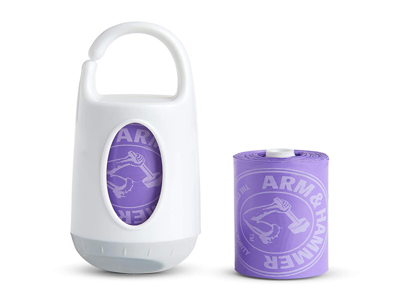 Disposable Baby Nappy Bags With Dispenser