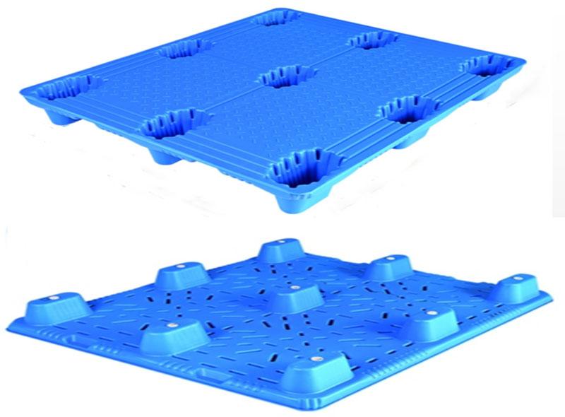 1100*1100*150mm Nine-angle Blow Molding Tray