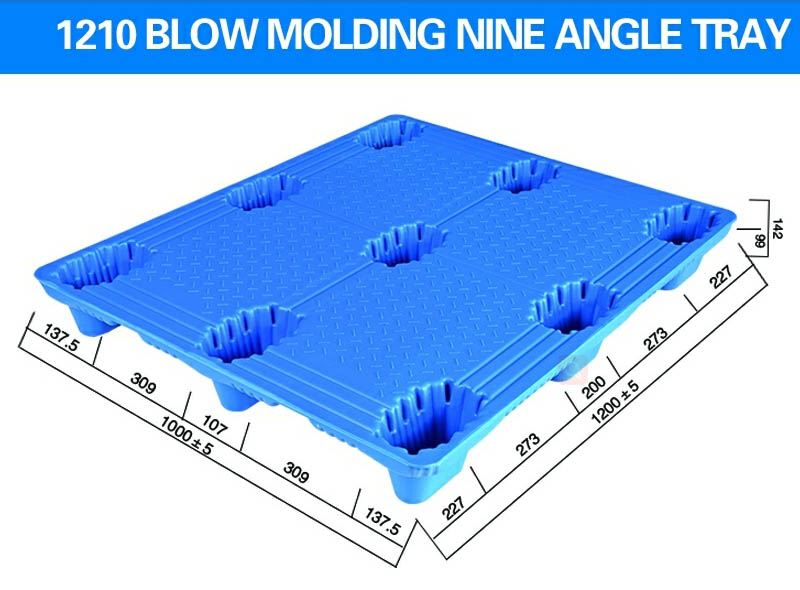 1200*1000*150mm Nine-angle Blow Molding Tray