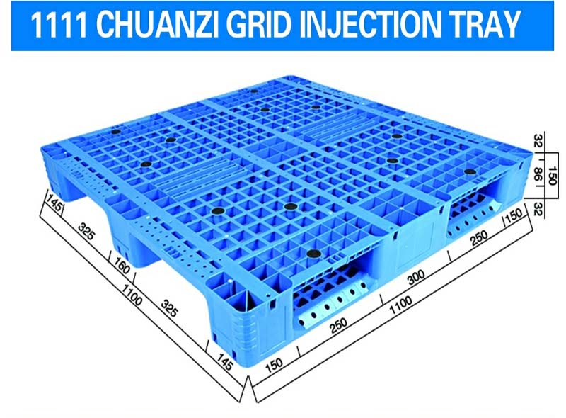 1100*1100*150mm Three-runners Grid Injection Molding Tray