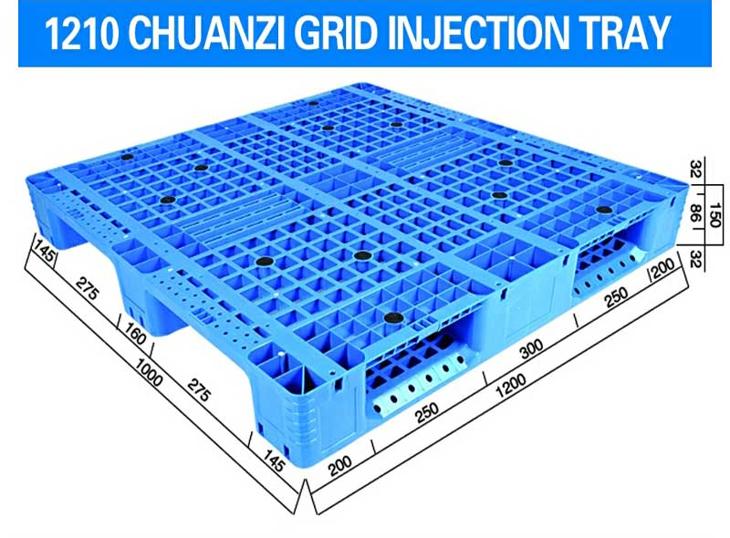 1200*1000*150mm Three-runners Grid Injection Molding Tray