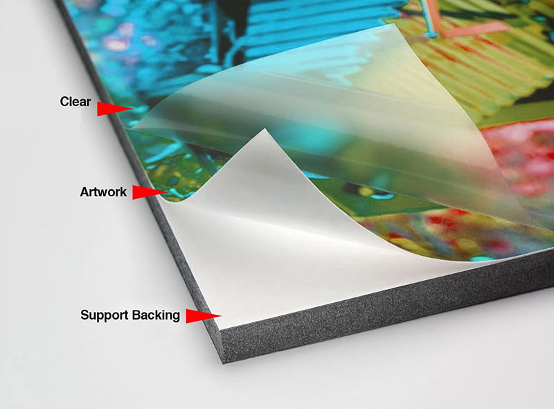 Clear Adhesive Protective Film