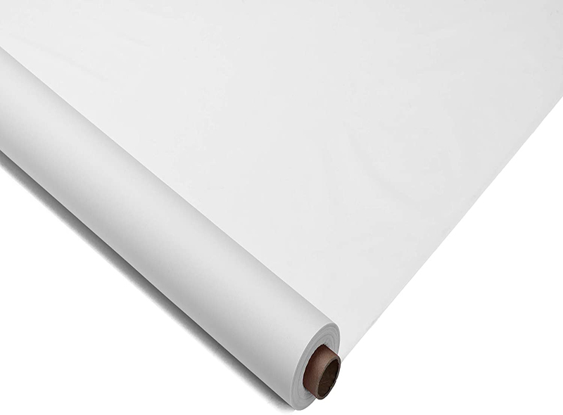 Disposable White PE Table Cloth