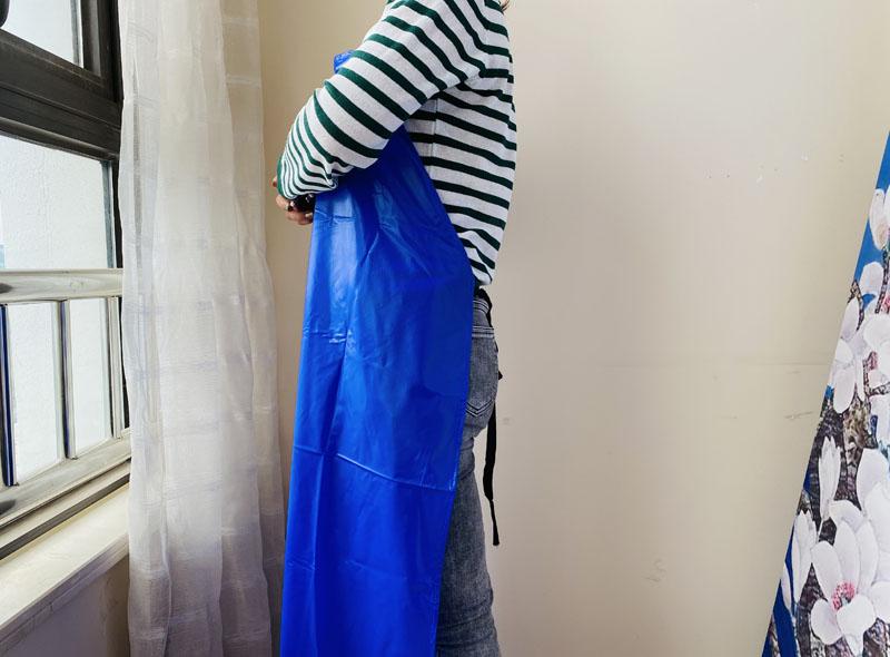 Blue PVC Apron